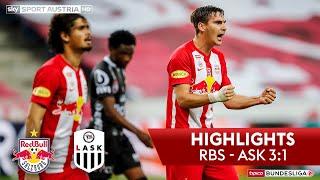 Tipico Bundesliga, 26. Runde: Fc Red Bull Salzburg - Lask 3:1