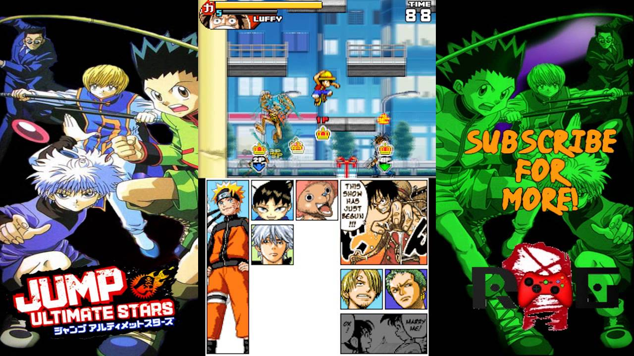 Jump Ultimate Stars English Part 3 Hunter X Hunter Youtube