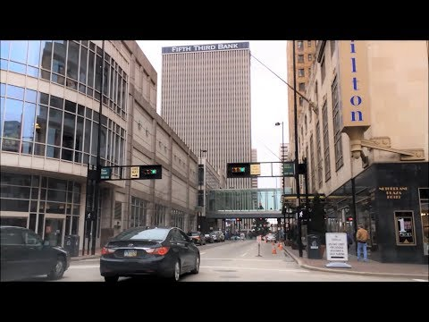 Driving Downtown - Cincinnati Ohio