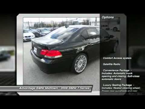 2008 bmw 7 series 750i at advantage bmw midtown in houston. Cars Review. Best American Auto & Cars Review