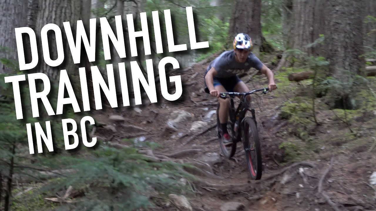 A DAY IN THE LIFE TRAINING FOR DOWNHILL WORLD CHAMPIONSHIPS | Finn Iles