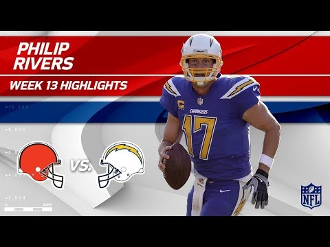 Philip Rivers Gets the Win w/ 344 Yards vs. Cleveland! | Browns vs. Chargers | Wk 13 Player HLs