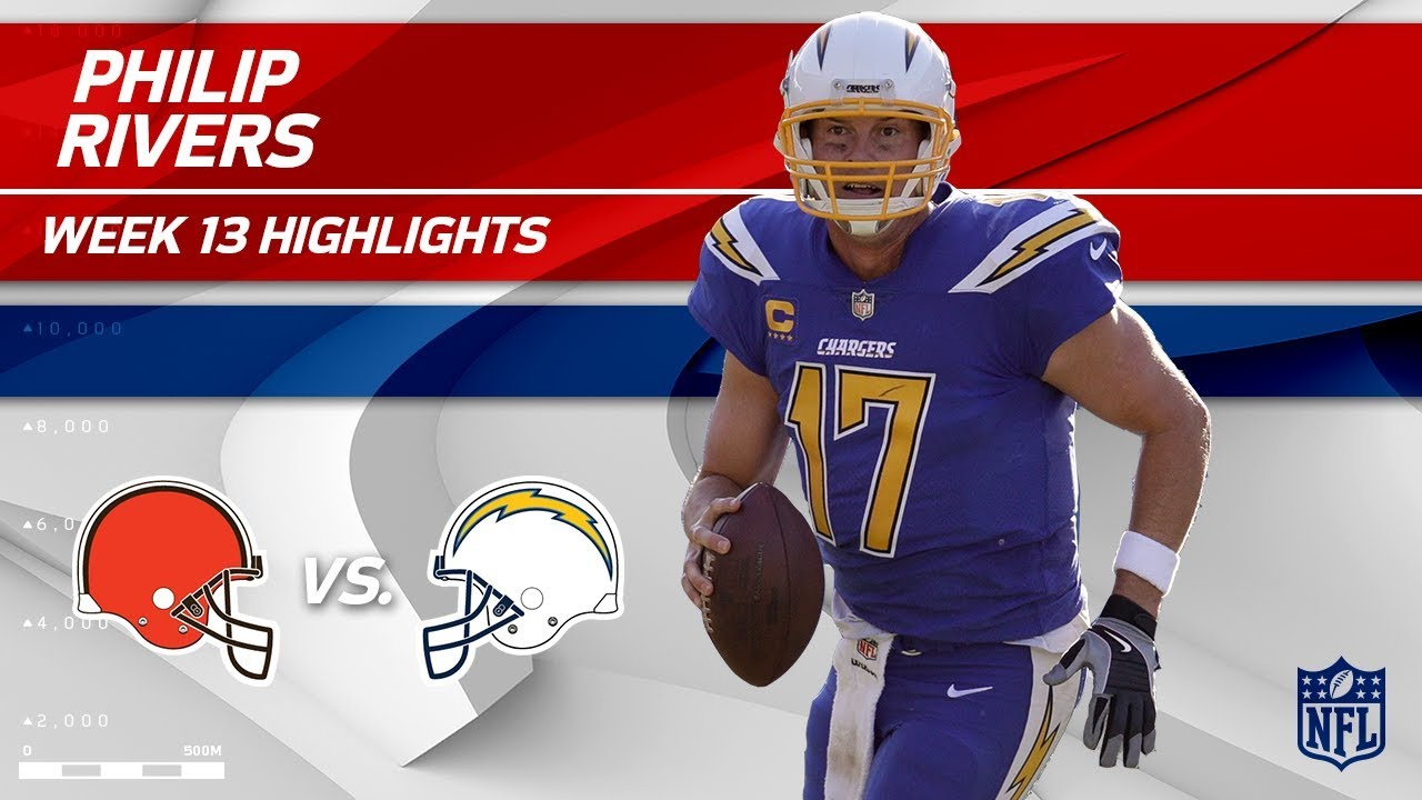 san francisco ffecc 3a426 Philip Rivers Gets the Win w/ 344 Yards vs. Cleveland! | Browns vs.  Chargers | Wk 13 Player HLs