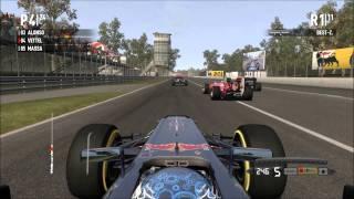 Formel 1 2011™ PC [KERS] Monza Gameplay  - Sebastian Vettel Start