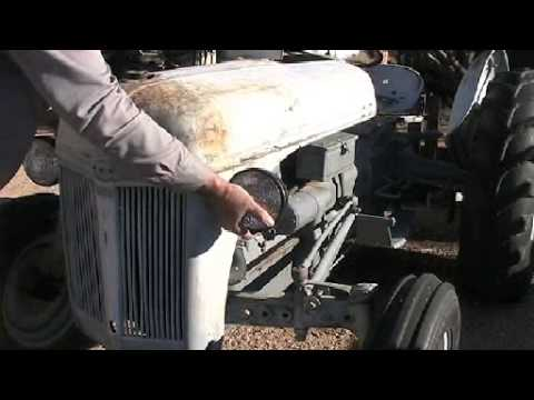 ford 9n tractor fuel tank replace youtube Ford Points Installation ford 9n tractor fuel tank replace