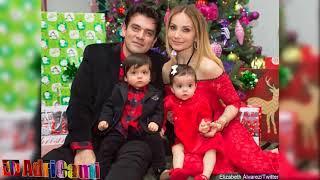 ¡Qué grandes están los mellizos de Elizabeth Álvarez y Jorge Salinas!