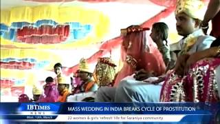 Mass Wedding In India Breaks Cycle of Prostitution