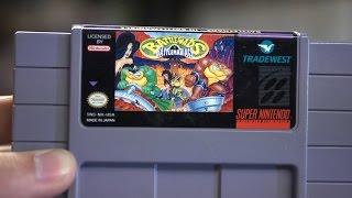 Battletoads in Battlemaniacs (SNES) - James & Doug