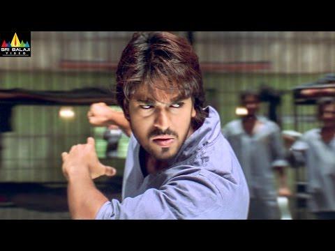 Chirutha Movie Ram Charan Introduction Fight Scene | Ram Charan, Neha Sharma | Sri Balaji Video