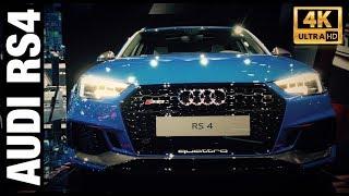 Новая AUDI RS4 2018 Обзор | 450лс, 600 Hm