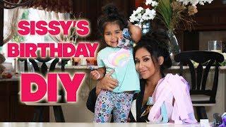 SISSY'S CHEERLEADING BIRTHDAY DIY & GOODY BAGS