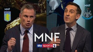 Do Jamie Carragher and Gary Neville think Arsenal should sack Unai Emery? | MNF