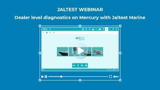 JALTEST WEBINAR | Dealer level diagnostics on Mercury with Jaltest Marine