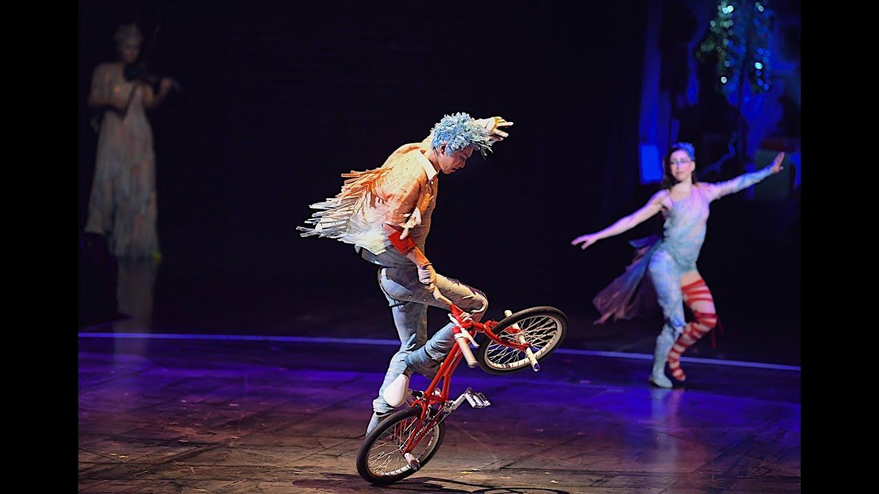 【BMX×バレエ】シルクドゥソレイユ『VOLTA』でのコラボ演目のフル映像を発表