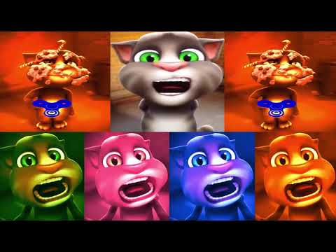 Learn Colors with My Talking Tom Colors for Children Funny Tom Cat Songs