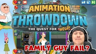 FIRST 15 MINUTES GAME PLAY REVIEW - Animation Throwdown: The Quest for Cards - FAMILY GUY!