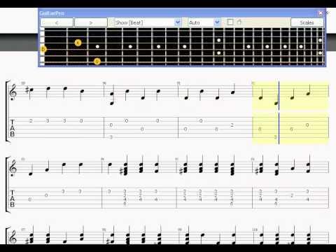 One Republic Secrets Fingerstyle Guitar Pro Tab Youtube