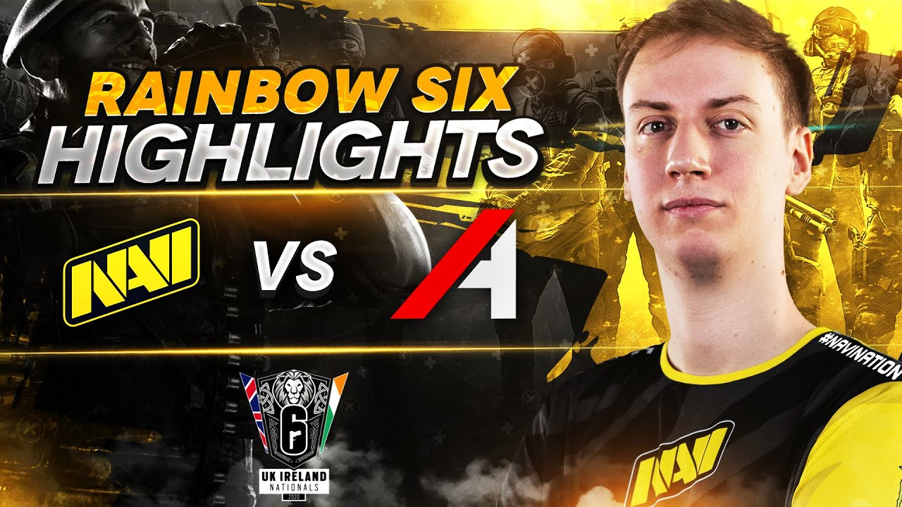 Rainbow Six Highlights: NAVI vs Audacity @ UK Ireland Nationals