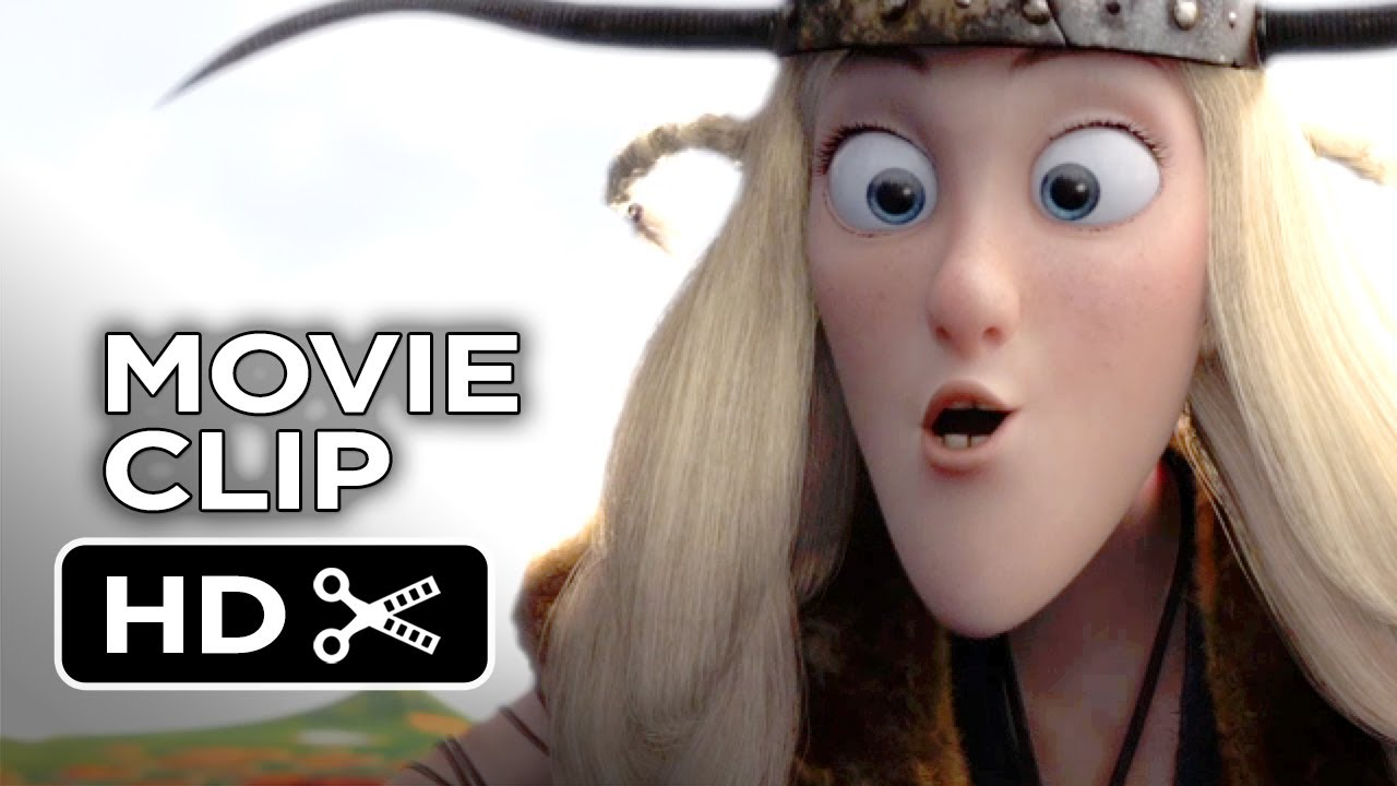 how to train your dragon 2 movie clip - eret (2014) - gerard butler