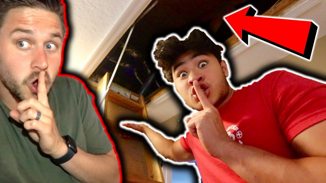 SNEAKING into MoreJStu's NEW HOUSE *CAUGHT*