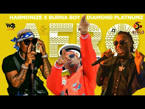 Harmonize X Diamond Platnumz X Burna Boy - New Music Video RUNING OUT (AFRO Bongo)