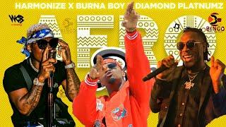 Harmonize X Diamond Platnumz X Burna Boy - New Music Video RUNING OUT (AFRO Bongo)
