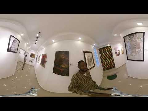 FormeFeminee Art exhibition Interview(See Beyond) 360 deg  Immersive VR EXPERIENCE