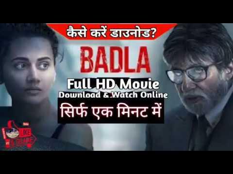 Download Badla | Hindi Full Movie Amitabh Bachchan , Tapsee Pannu || Download