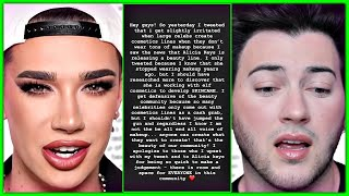 Manny Mua & James Charles BACK PEDAL Faster Than Lance Armstrong