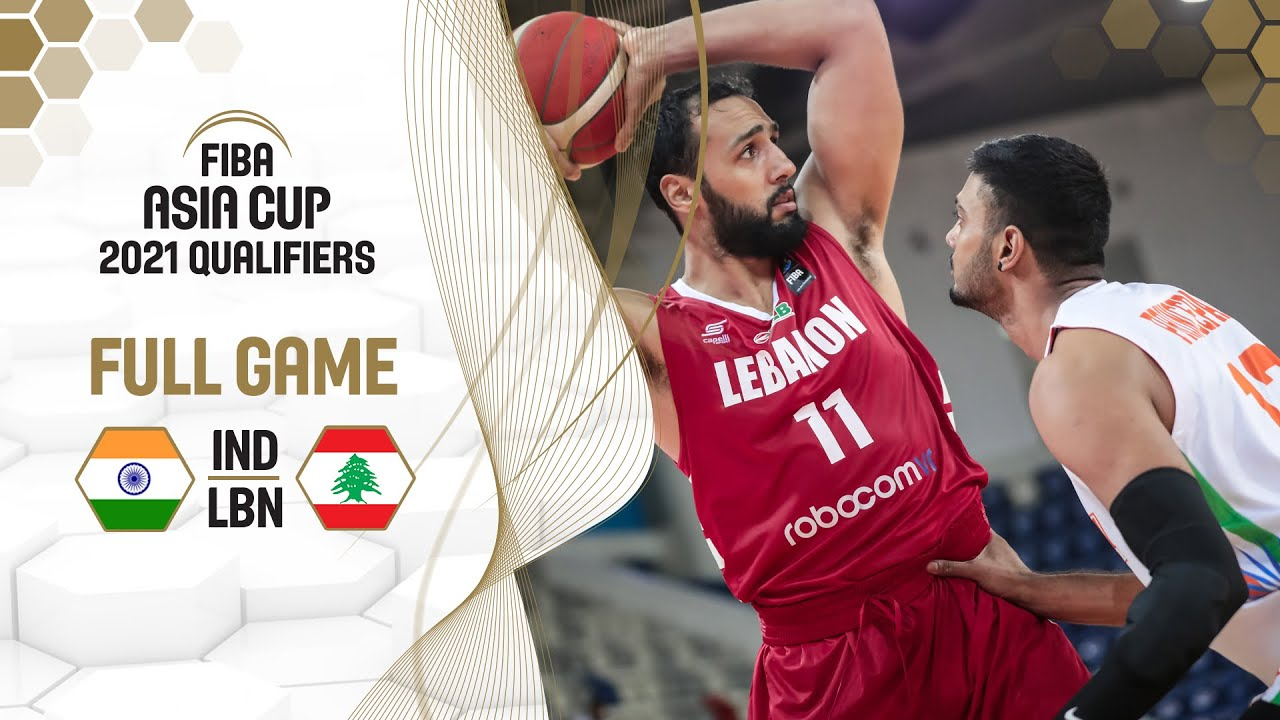Download India v Lebanon - Full Game - FIBA Asia Cup 2021 Qualifiers