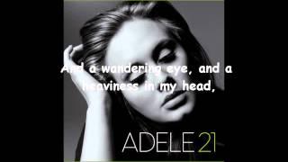 adelevevo adele   dont you remember lyrics