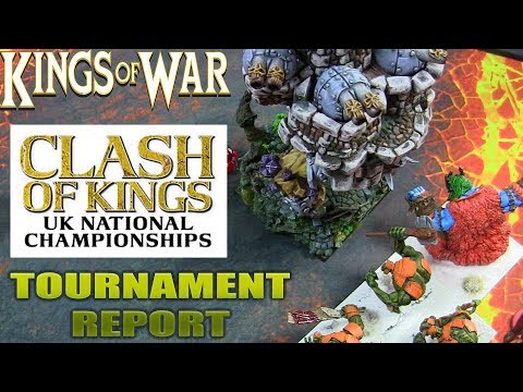 Clash Of Kings 2018 - Kings Of War Tournament Report
