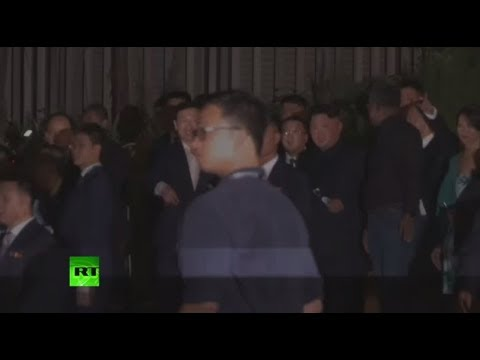 Kim Jong-un takes night tour in Singapore before meeting with Trump