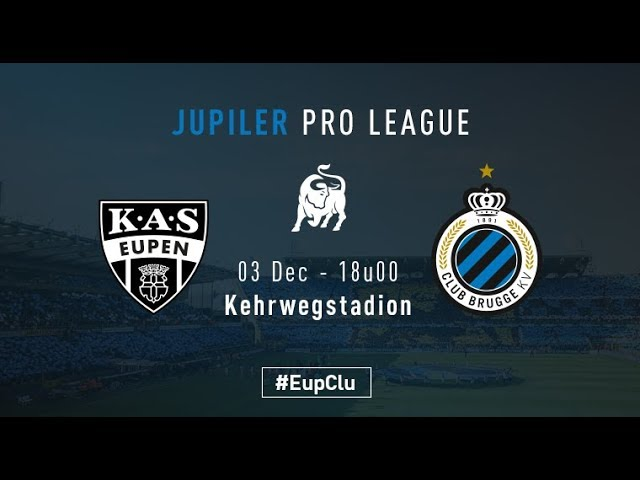 EUPEN - CLUB BRUGGE | Matchverslag | 2017-2018