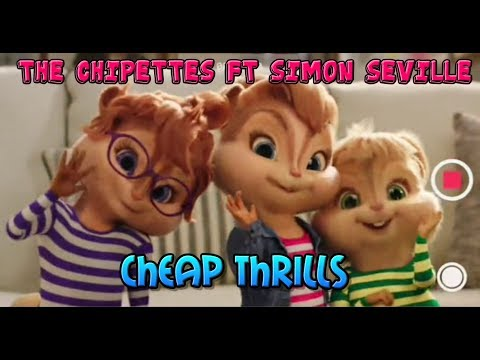 The Chipettes - Cheap Thrills  ft  Simon Seville