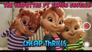 the chipettes cheap thrills ft simon seville