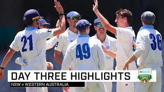 NSW eyeing victory after Cummins, Starc fire | Marsh Sheffield Shield 2019-20