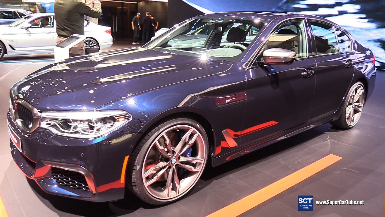 2017 bmw 5 series m550i sedan exterior interior walkaround world premier 2017 detroit auto. Black Bedroom Furniture Sets. Home Design Ideas