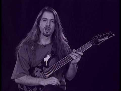 John Petrucci legato lesson 1