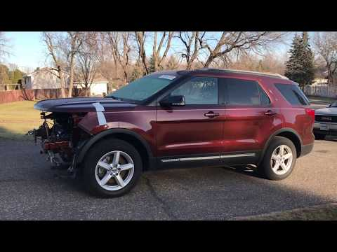 I bought a 2016 FORD EXPLORER from COPART salvage auction – PART 1