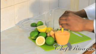 Tropical Fruit Smoothie From Chef Ricardo Cooking
