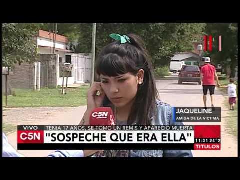 C5N - Policiales: tomó un remis y apareció muerta en Berazategui. Hablan sus amigas.