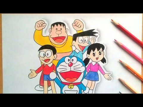 How To Draw Doraemon And His Friends (HAC)