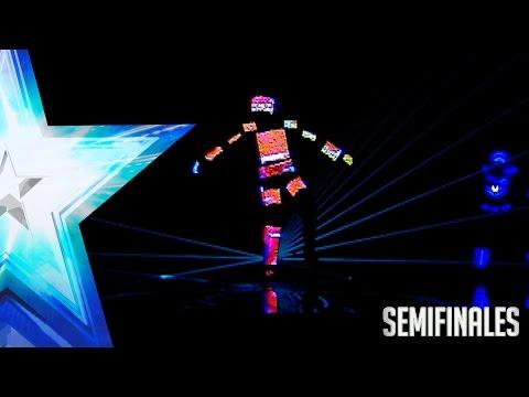 'Saturnalia Show' parecen sacados de un videojuego   Semifinales 2   Got Talent España 2017