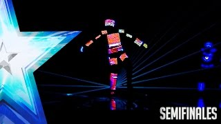'Saturnalia Show' parecen sacados de un videojuego | Semifinales 2 | Got Talent España 2017