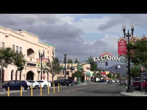 06 Stock Footage El Cajon California Main Street Magnolia Avenue John Snape
