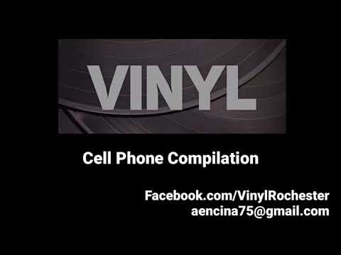 Vinyl - Cell Phone Compilation. Live Band - Rochester, NY