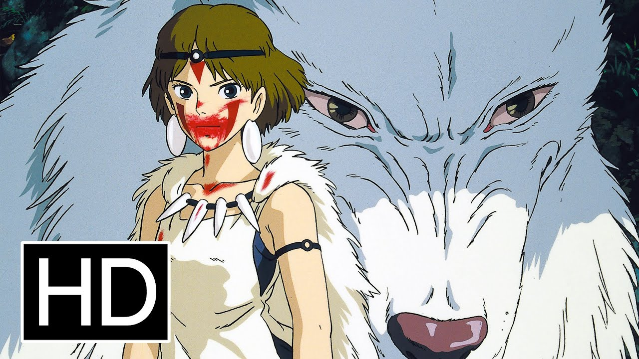 Princess mononoke official trailer youtube