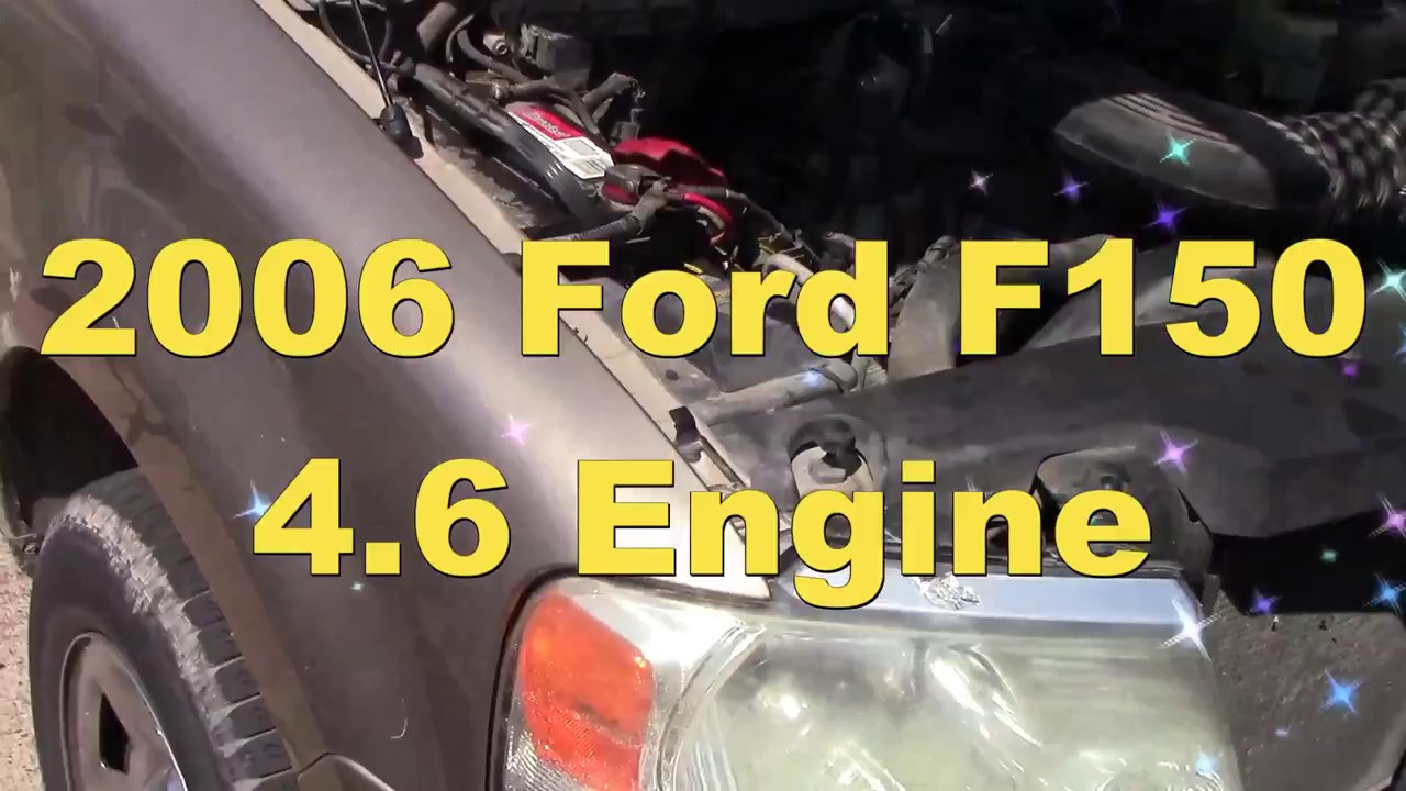 small resolution of 2006 ford f150 engine mounts replacement