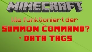 Minecraft 1.8 - Wie funktioniert der /summon-Command? (+Data Tags!) ᴴᴰ